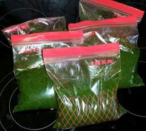 3kg eingekochte Spinaternte