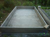 Fertiges Raft/Growbed